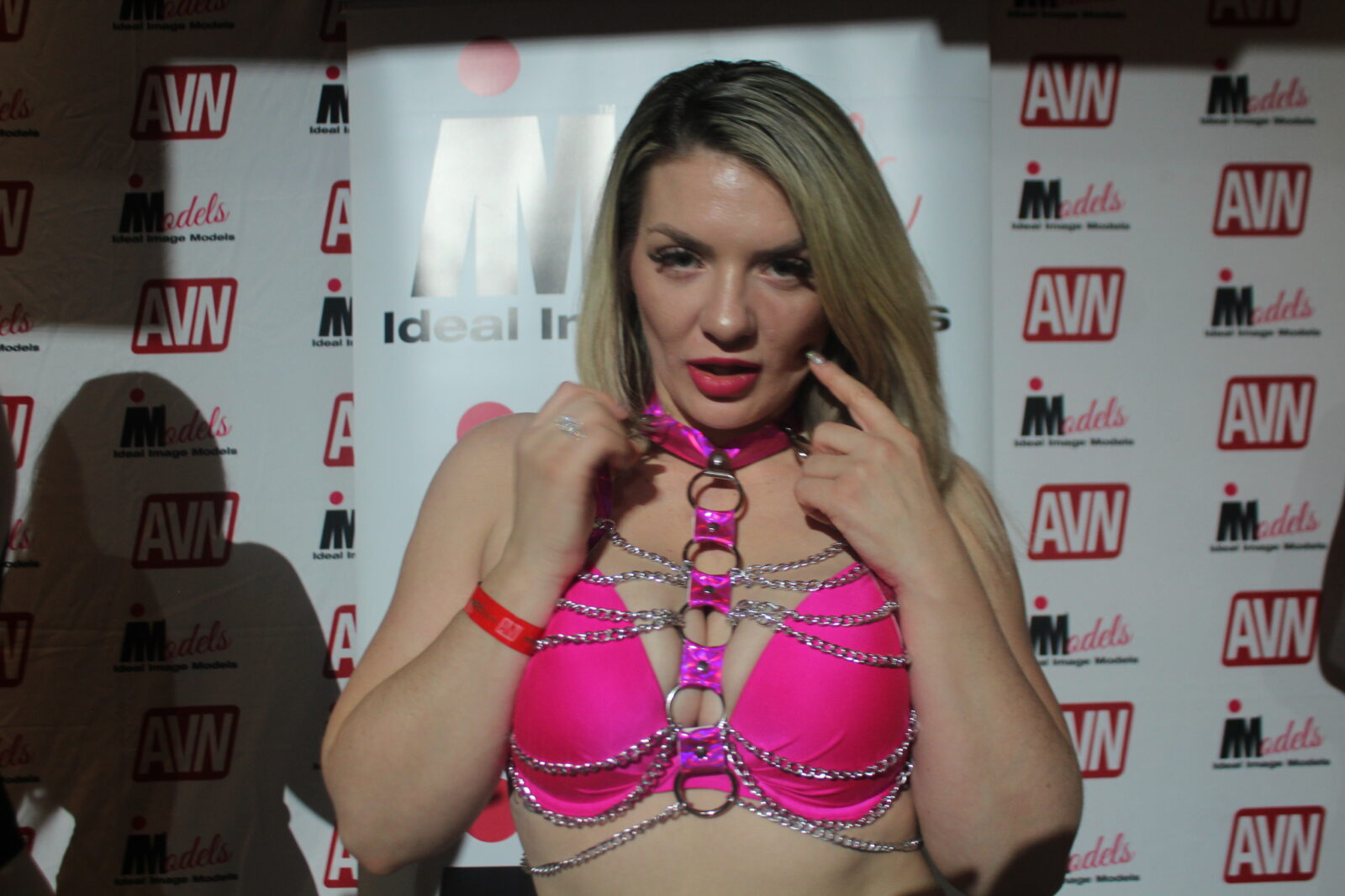 Emmy Demure at the AVN Expo 2019 in Las Vegas, NV.