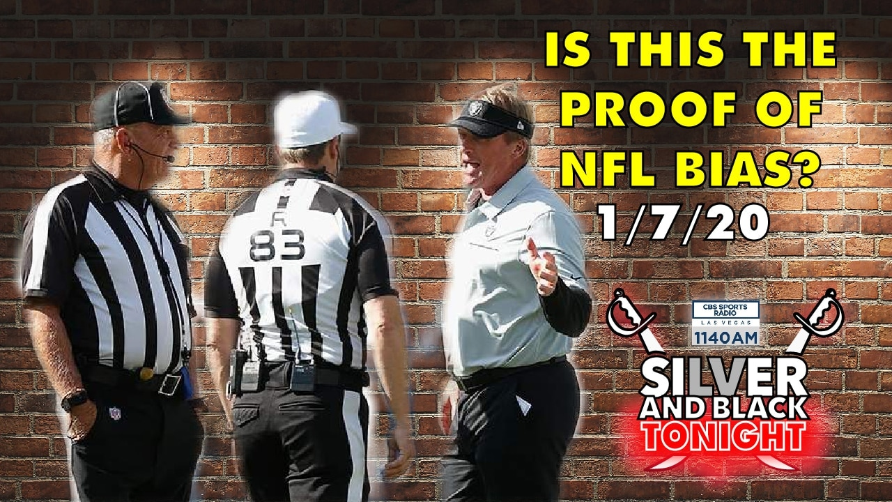 nfl officiating raiders bias ethical skeptic