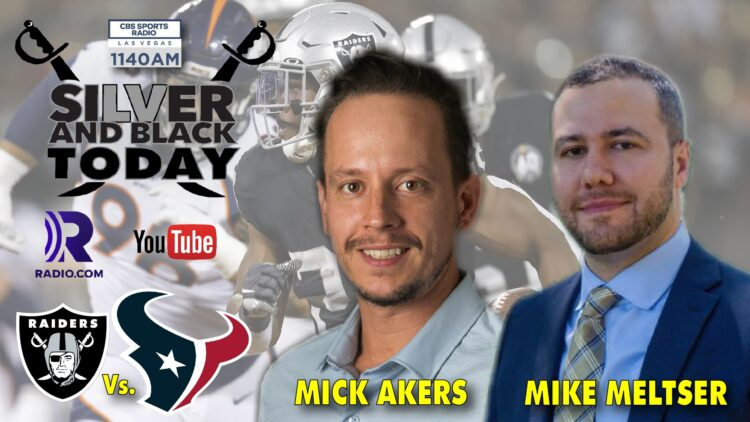 mick akers mike meltser silver and black today cbs sports radio