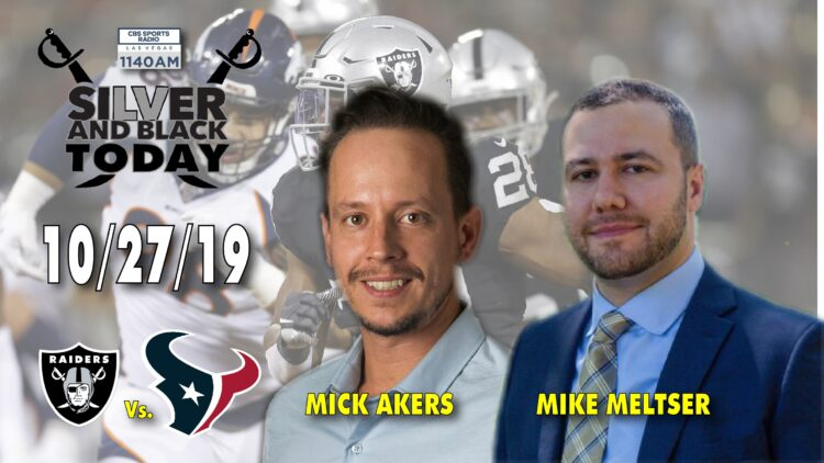 mick akers allegiant stadium mike meltser cbs sports radio 1140 silver and black today
