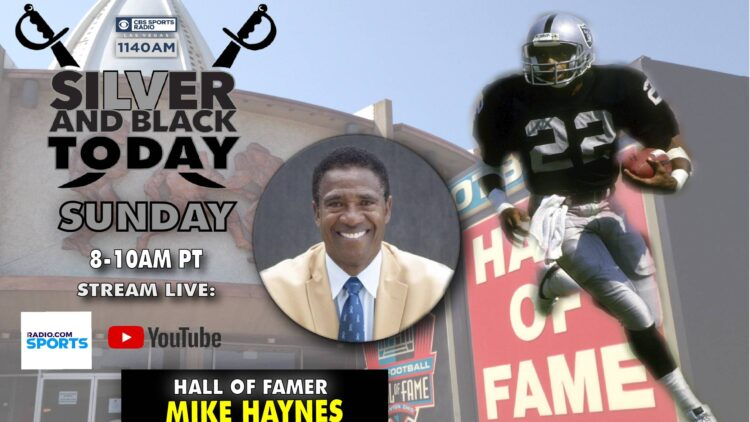 mike haynes oakland raiders pro football hall of fame silver and black today