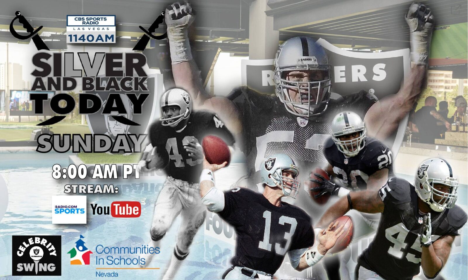 silver and black today cbs sports radio show