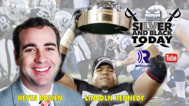 silver and black today raiders colts lincoln kennedy