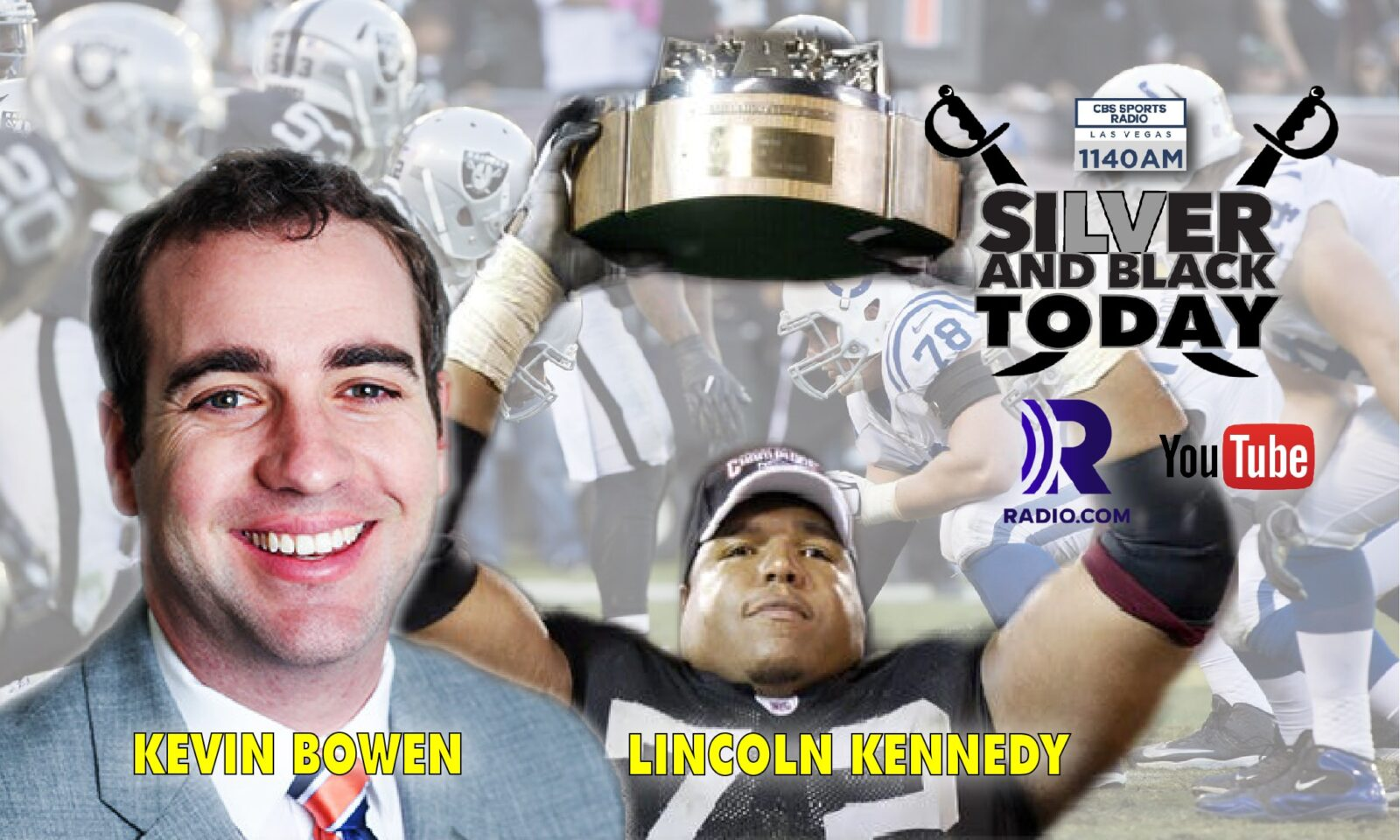 silver and black today lincoln kennedy Kevin Bowen Colts