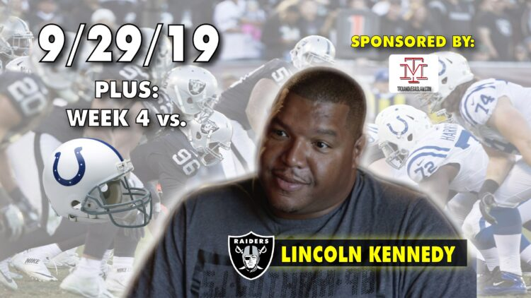 lincoln kennedy oakland raiders silver and black today video