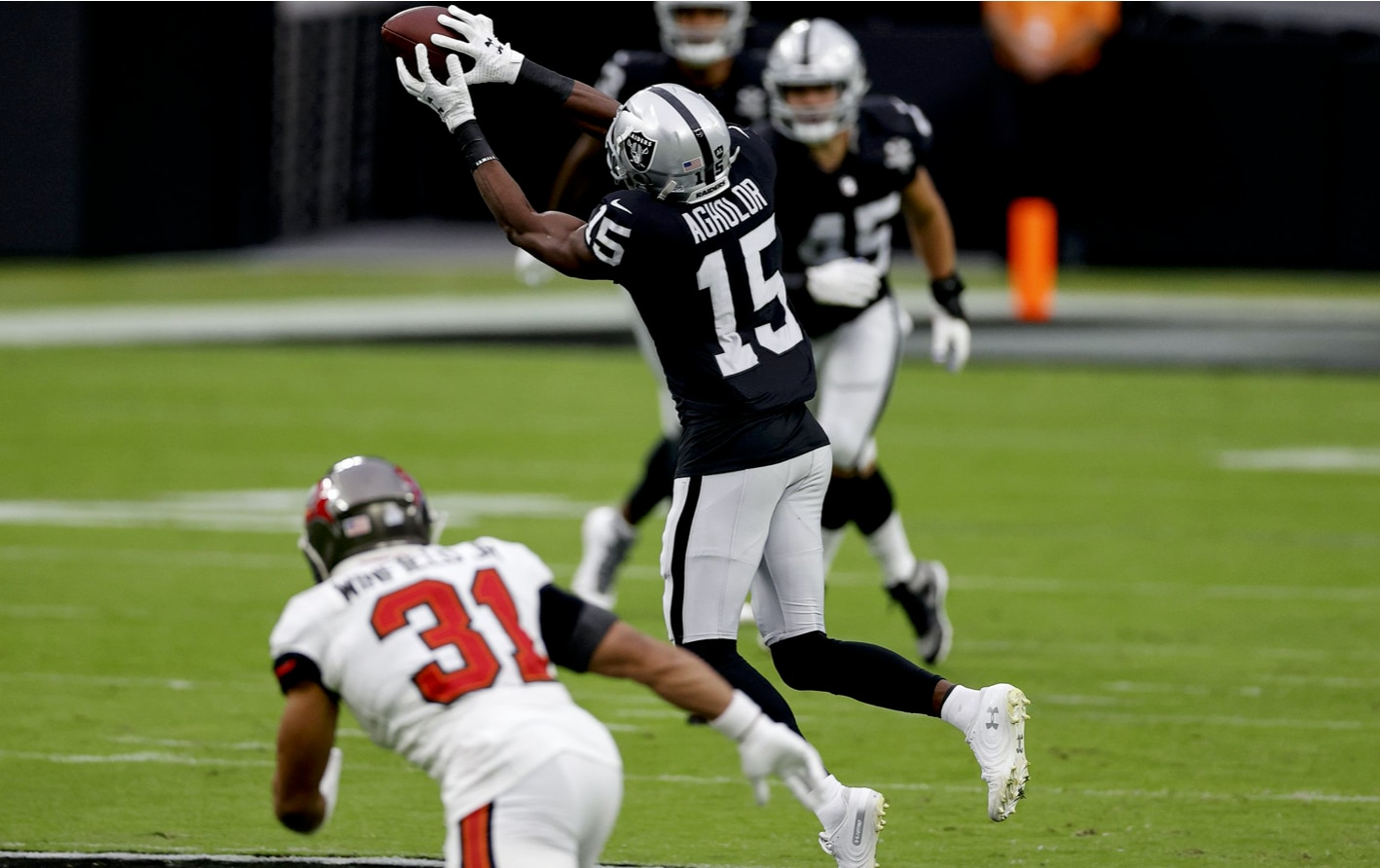 Nelson Agholor Raiders Tampa Bay Buccaneers