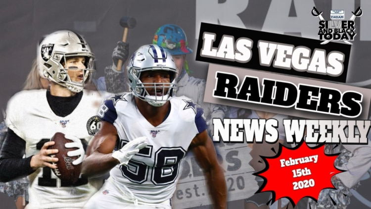 Las Vegas Raiders News weekly silver and black today