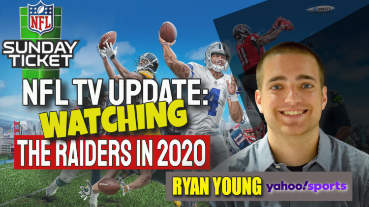 Raiders television nfl sunday ticket Ryan young