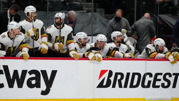 Vegas Golden Knights lose game 2 in ot