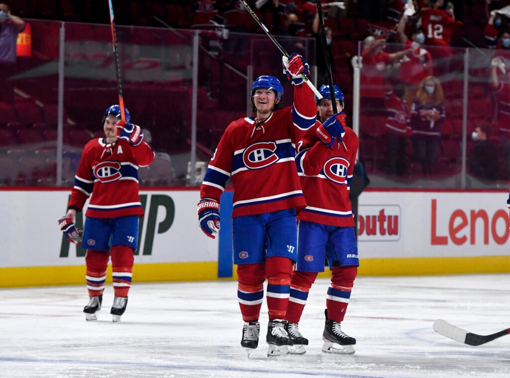 nhl playoffs montreal canadiens