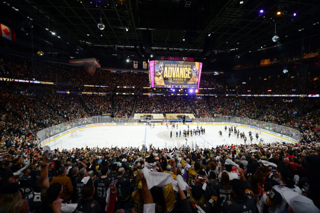 Vegas Golden Knights T-Mobile Arena NHL Playoffs