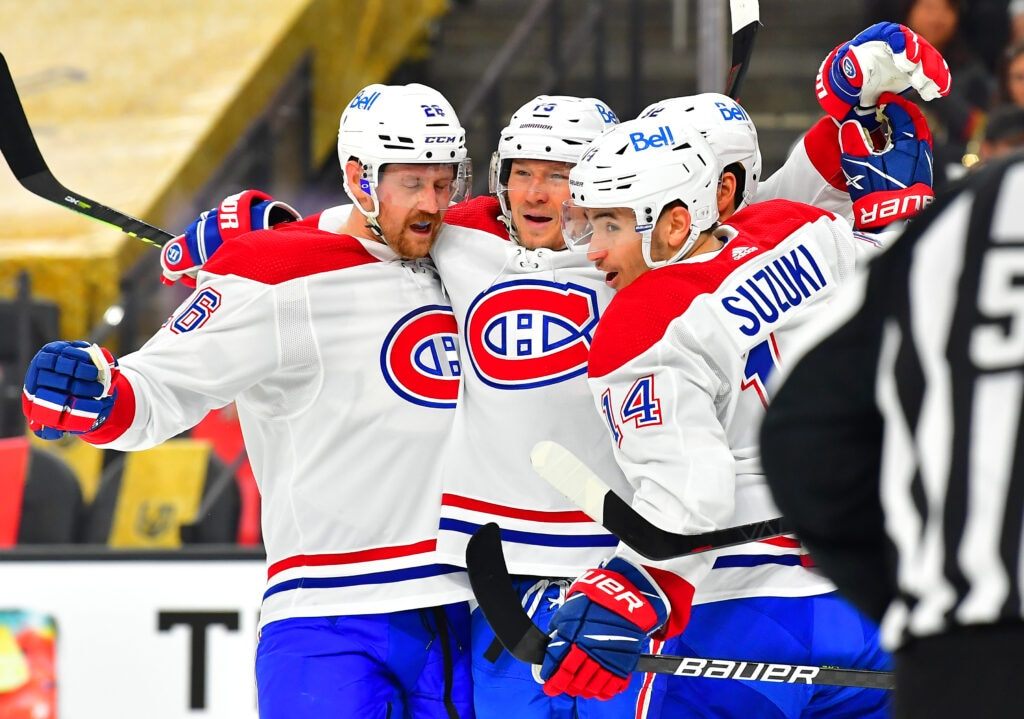 Golden Knights Montreal Canadiens Game 2